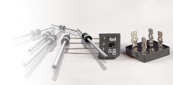 diody, usměrňovače a usměrňovací můstky
