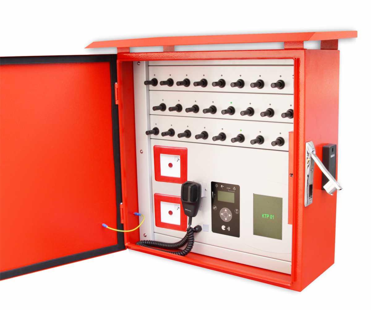 klíčový trezor s požární ochranou